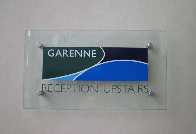 GLASS, STEEL & GRANITE SIGNS